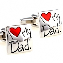 Запонки I love my dad