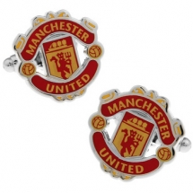 Запонки Manchester united