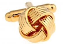 Запонки Golden Knot